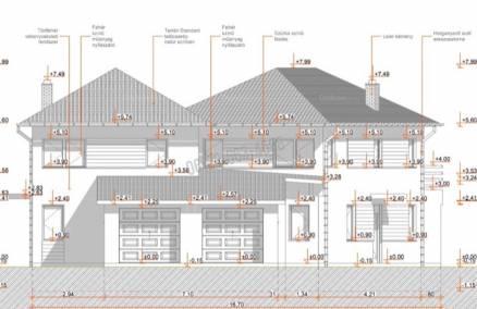 Dunakeszi új építésű ház eladó, 151 négyzetméteres, 5 szobás