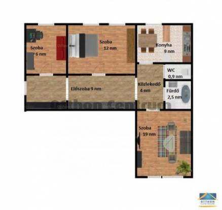 Eladó 2+1 szobás lakás Óhegyen, Budapest