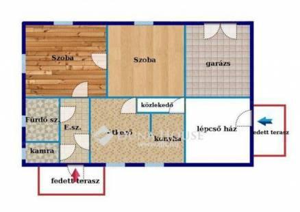 Budapest eladó családi ház Sashalmon, 170 négyzetméteres