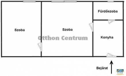 Budapesti lakás eladó, Ligetteleken, 2 szobás