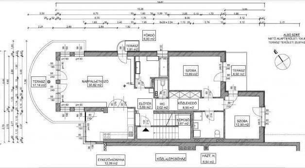Eladó lakás Németvölgyben, 6 szobás