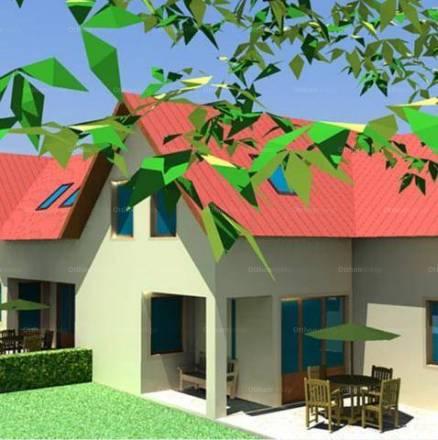 Pákozdi új építésű ikerház eladó, 110 négyzetméteres, 3+1 szobás