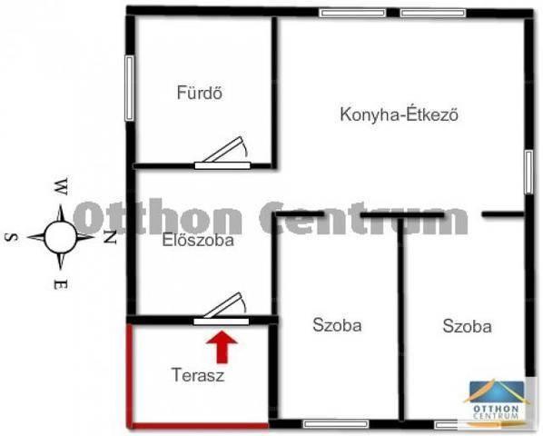 Eladó családi ház, Nyíregyháza, 2 szobás