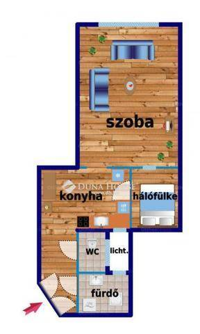 Eladó lakás, Budapest, Terézváros, Király utca, 1 szobás