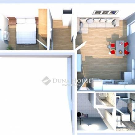 Pécsi új építésű lakás eladó a Jászai Mari utcában, 47 négyzetméteres
