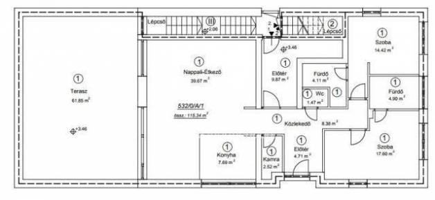 Eladó 3 szobás lakás Remeteszőlős, új építésű