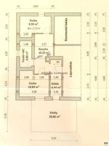 Budapest eladó lakás, Budafok, Arany János utca, 48 négyzetméteres