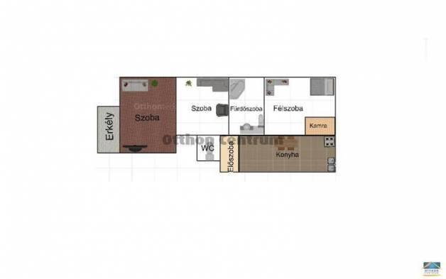 Budapest eladó lakás, Lágymányos, Móricz Zsigmond körtér, 54 négyzetméteres