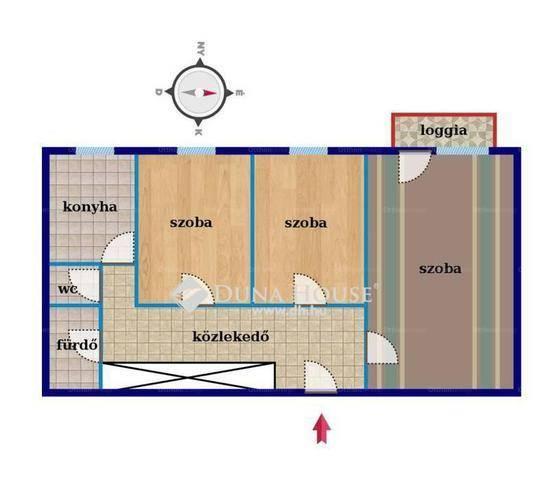 Debreceni eladó lakás, 1+2 szobás, a Derék utcában