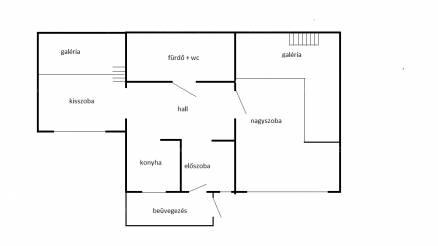 Eladó házrész Pesterzsébeten, az Ősz utcában, 1+1 szobás
