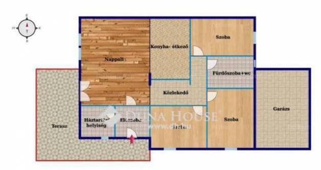 Bocskaikerti eladó ikerház, 1+3 szobás, a Monostori úton, új építésű