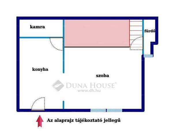 Budapesti lakás eladó, Józsefvárosban, Lujza utca, 1 szobás