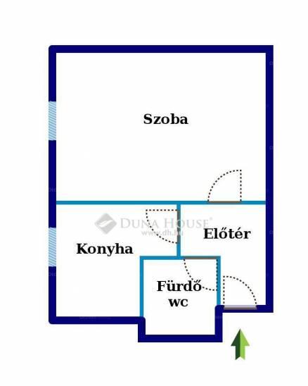 Budapest eladó lakás, Újpest, Szent László tér, 37 négyzetméteres