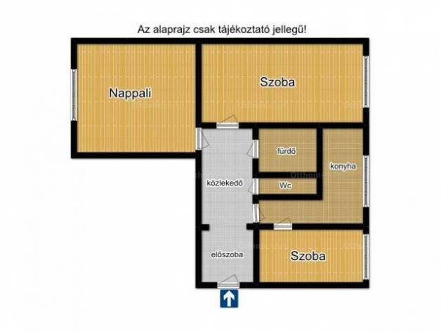 Szeged 2+1 szobás lakás eladó