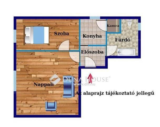 Budapest eladó lakás, Rákoshegy, Ady Endre utca, 58 négyzetméteres