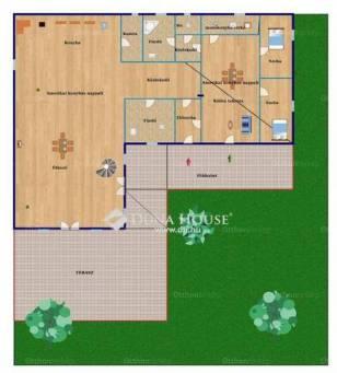 Szigetszentmiklósi ház eladó a Hóvirág utcában, 160 négyzetméteres