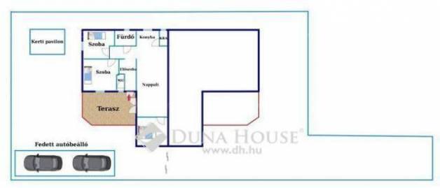 Gyál 1+3 szobás ház eladó a Fecske utcában