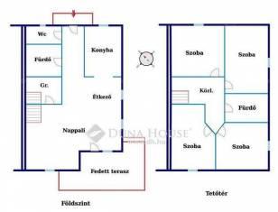 Új Építésű ház eladó Pilis, az Erzsébet utcában, 107 négyzetméteres