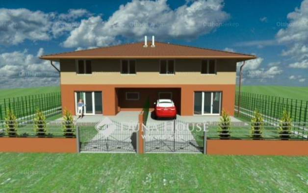Vecsési új építésű ház eladó a Budai Nagy Antal utcában, 107 négyzetméteres