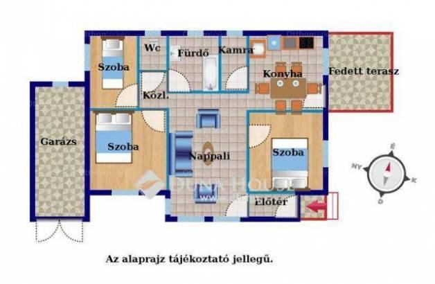 Ócsai új építésű ház eladó a Török Ignác utcában, 92 négyzetméteres