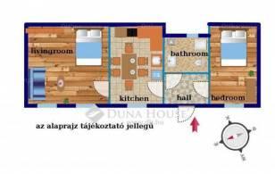 Budapest eladó lakás Terézvárosban a Teréz körúton, 53 négyzetméteres