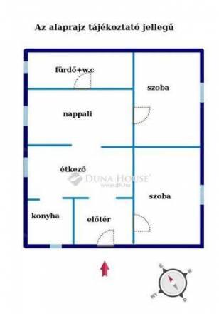 Ház eladó Pilis, az Erkel Ferenc utcában, 87 négyzetméteres