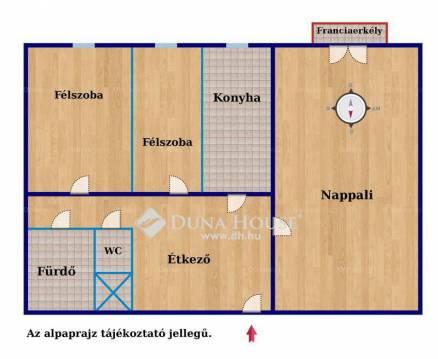 Budapesti lakás eladó, Békásmegyeren, Zemplén Győző utca, 1+1 szobás