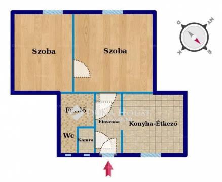 Eladó lakás, Budapest, Wekerletelep, Dobó Katica utca, 2 szobás