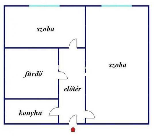 Eladó, Debrecen, 1 szobás