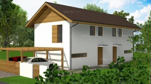 Eladó új építésű ikerház Rákosszentmihályon, XVI. kerület György utca, 1+3 szobás