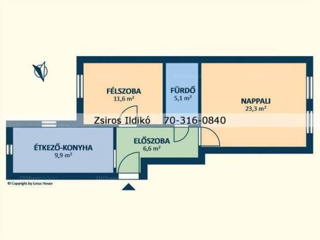 Kiadó 2 szobás albérlet Kelenföldön, Budapest, Fehérvári út