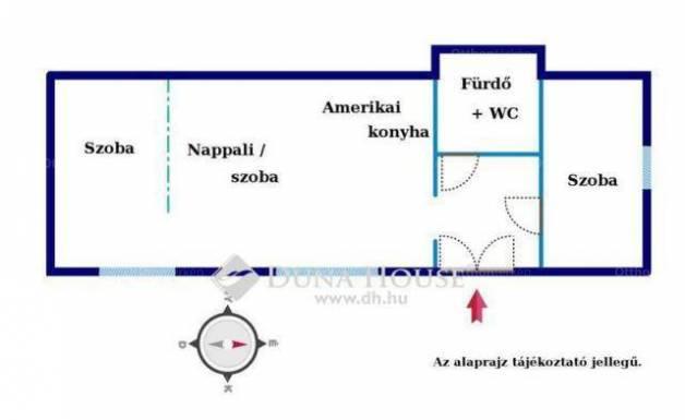 Eladó 2+1 szobás lakás Újlipótvárosban, Budapest, Katona József utca