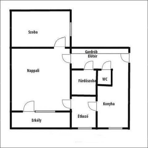 Szegedi lakás eladó a Teleki utcában, 56 négyzetméteres