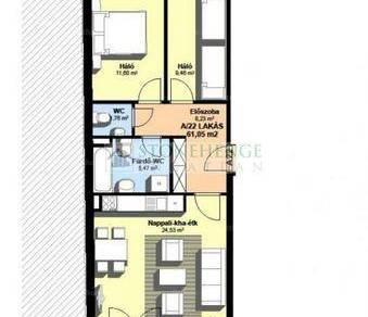 Lakás eladó Szombathely, 61 négyzetméteres