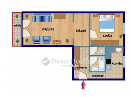 Budapesti lakás eladó, Havannatelepen, Havanna utca, 2 szobás