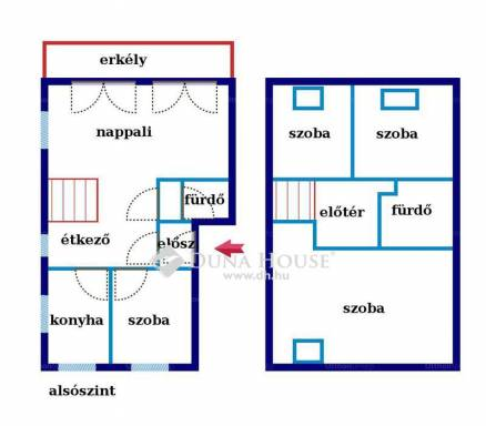 Eladó 2+3 szobás lakás Budatétényen, Budapest, Margit utca