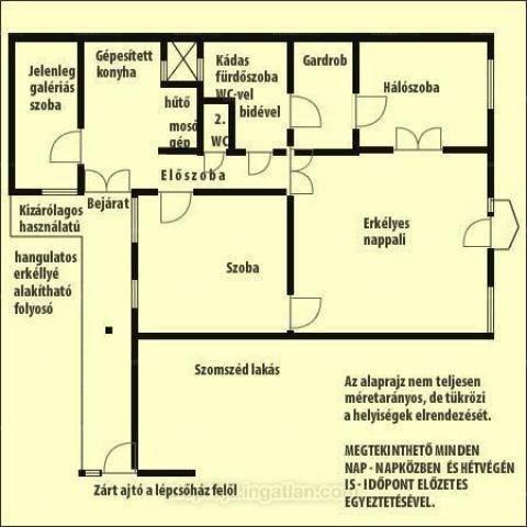 Eladó lakás, Budapest, Erzsébetvárosban, 103 négyzetméteres