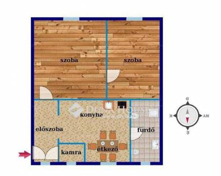Budapest eladó lakás, Wekerletelep, 46 négyzetméteres