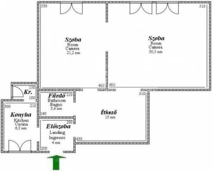Budapest kiadó lakás Krisztinavárosban a Márvány utcában, 80 négyzetméteres