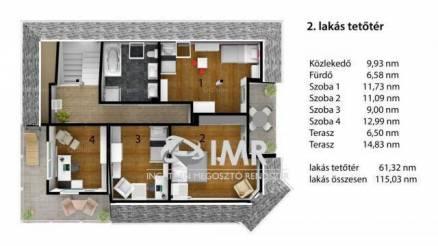 Budapesti eladó ház, 5 szobás, 142 négyzetméteres