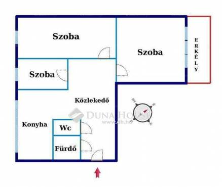 Eladó 2+1 szobás lakás Kecskemét