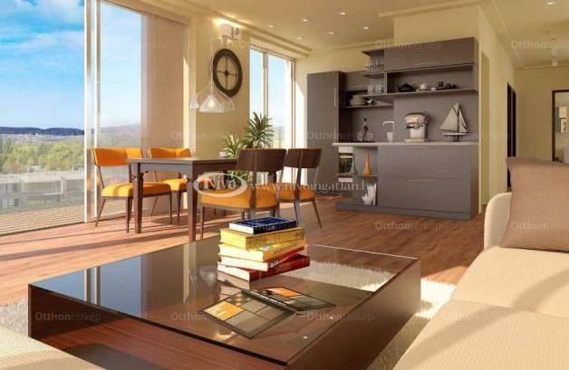 Alsóörsi lakás eladó, 69 négyzetméteres, 1+2 szobás