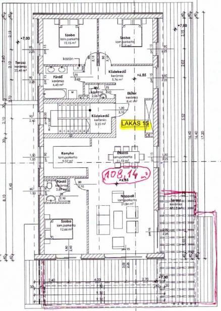 Szentendre új építésű, 4 szobás