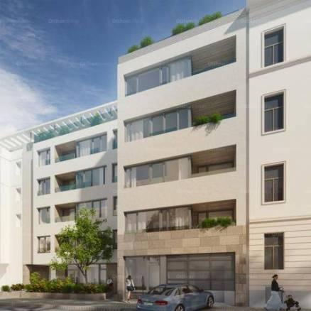 Kiadó új építésű lakás Ferencvárosi rehabilitációs területen, IX. kerület Lenhossék utca, 1 szobás