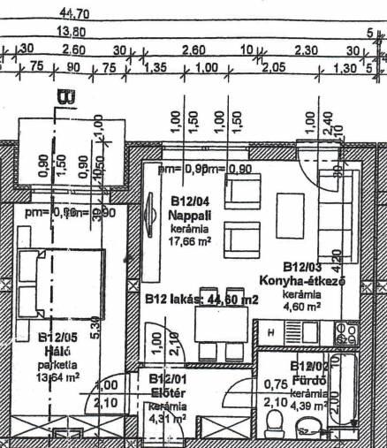 Szombathely lakás eladó, 2 szobás