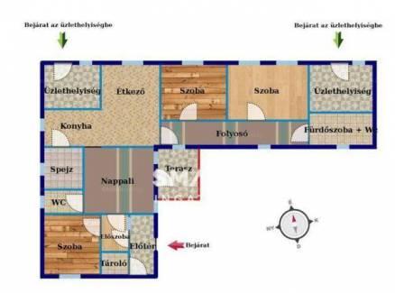 Nyergesújfalui családi ház eladó, 170 négyzetméteres