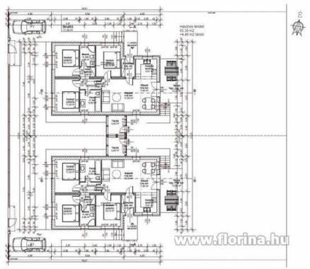 Eladó 1+3 szobás családi ház Pécel, új építésű