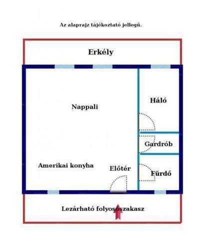 Eladó 1+1 szobás lakás Kútvölgyben, Budapest