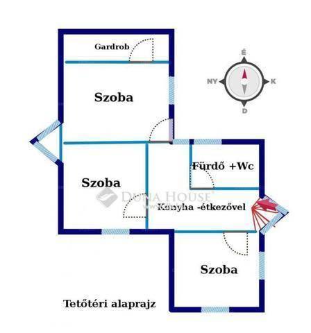 Zalaegerszeg 6 szobás családi ház eladó a Búzavirág utcában