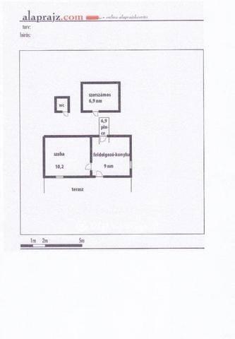 Szekszárd családi ház eladó, 1 szobás
